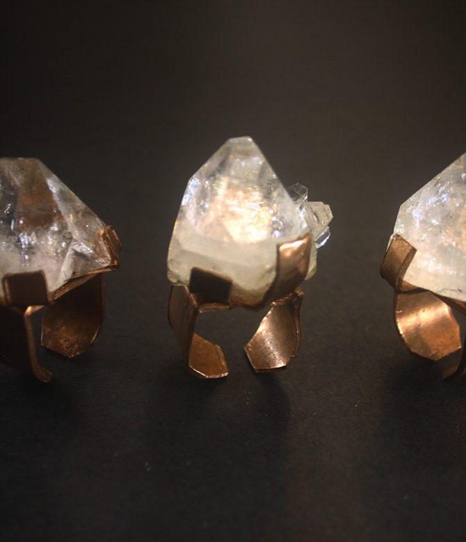 Apophyllite Ring