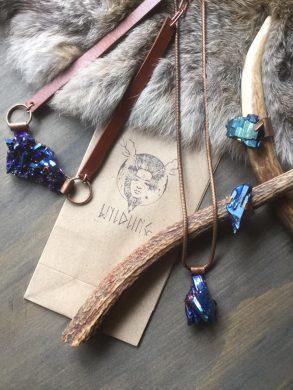 Cobalt Quartz Jewelry