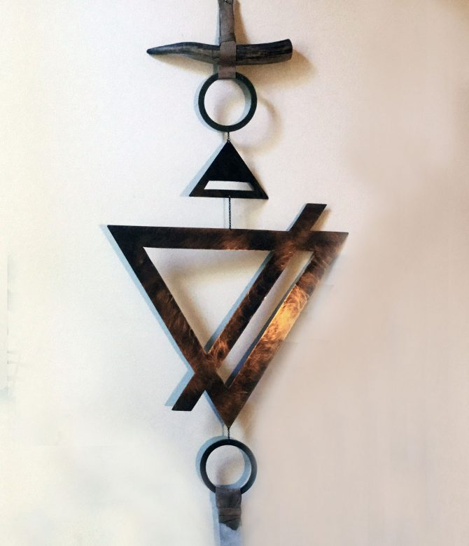 Future Primitive Wall Hanging - Earth Element