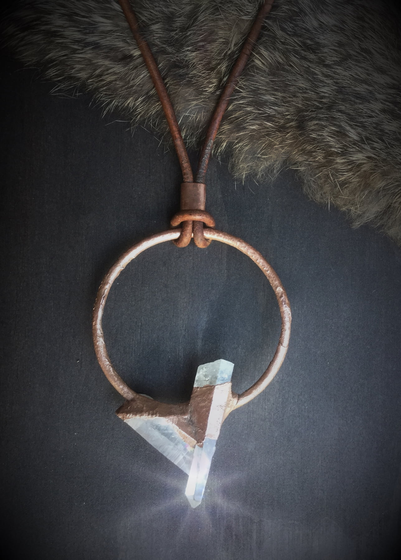 Circle of Love Crystal Neckpiece